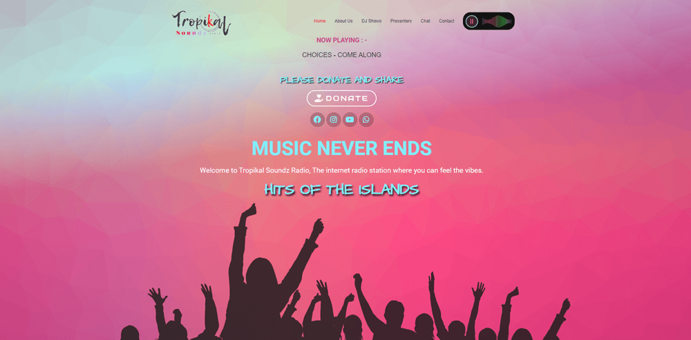 website-design-canterbury-tropikal-soundz